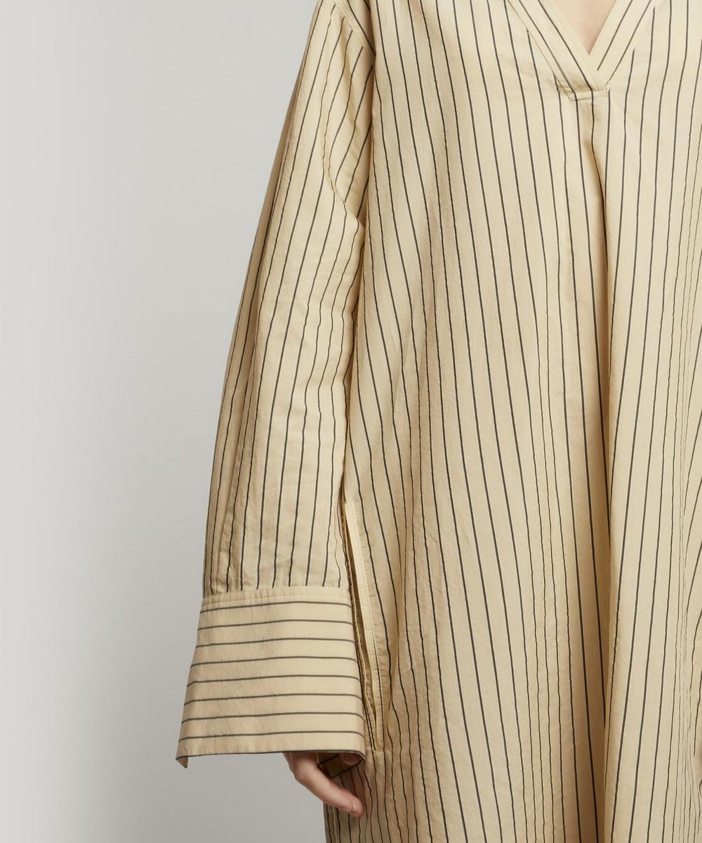 Janis Stripe Cotton-Silk Dress