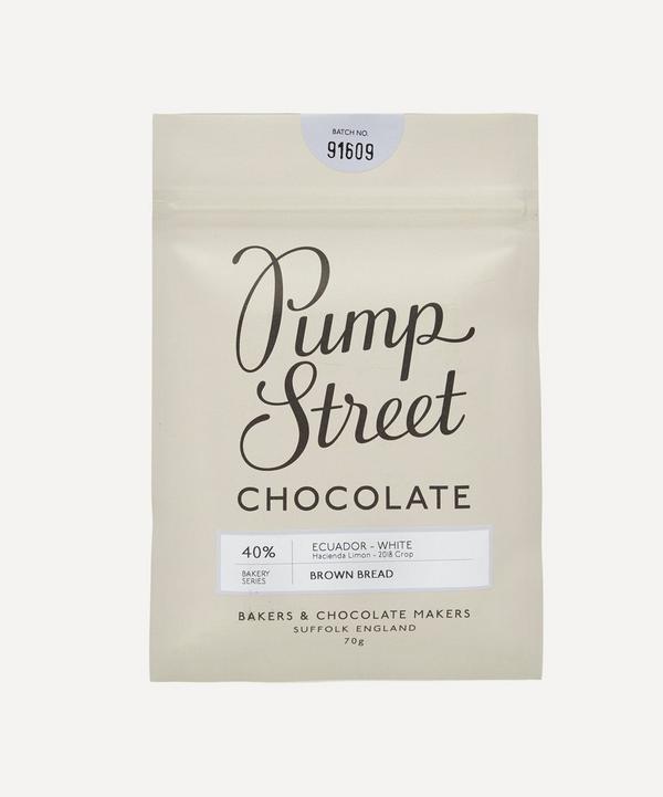 Pump Street Bakery - Brown Bread 40% White Chocolate Bar 70g
