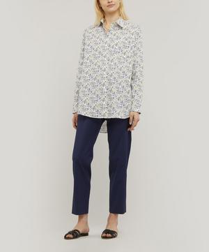 Lucky Meadow Print Cotton Shirt
