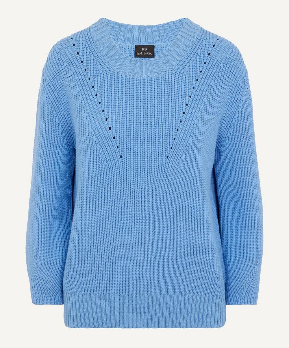 Mid Sleeve Knitted Jumper
