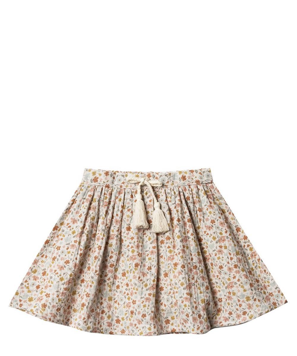 Flower Field Mini Skirt 2-8 Years