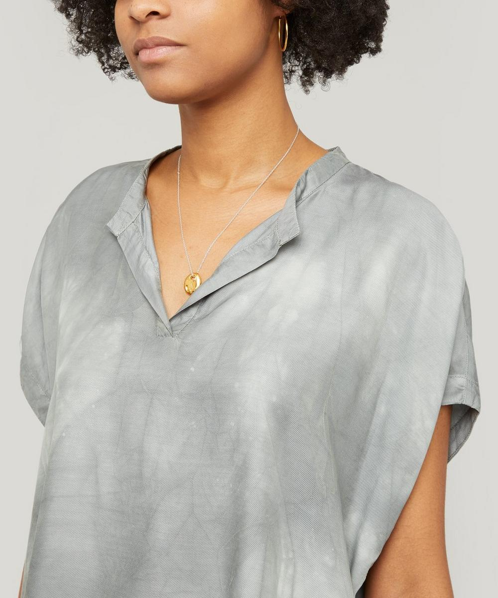 Venara Washed-Effect Top
