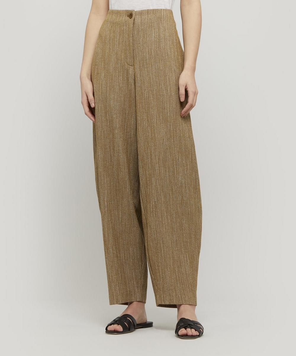 Matia Heavy Cotton Cocoon Trousers