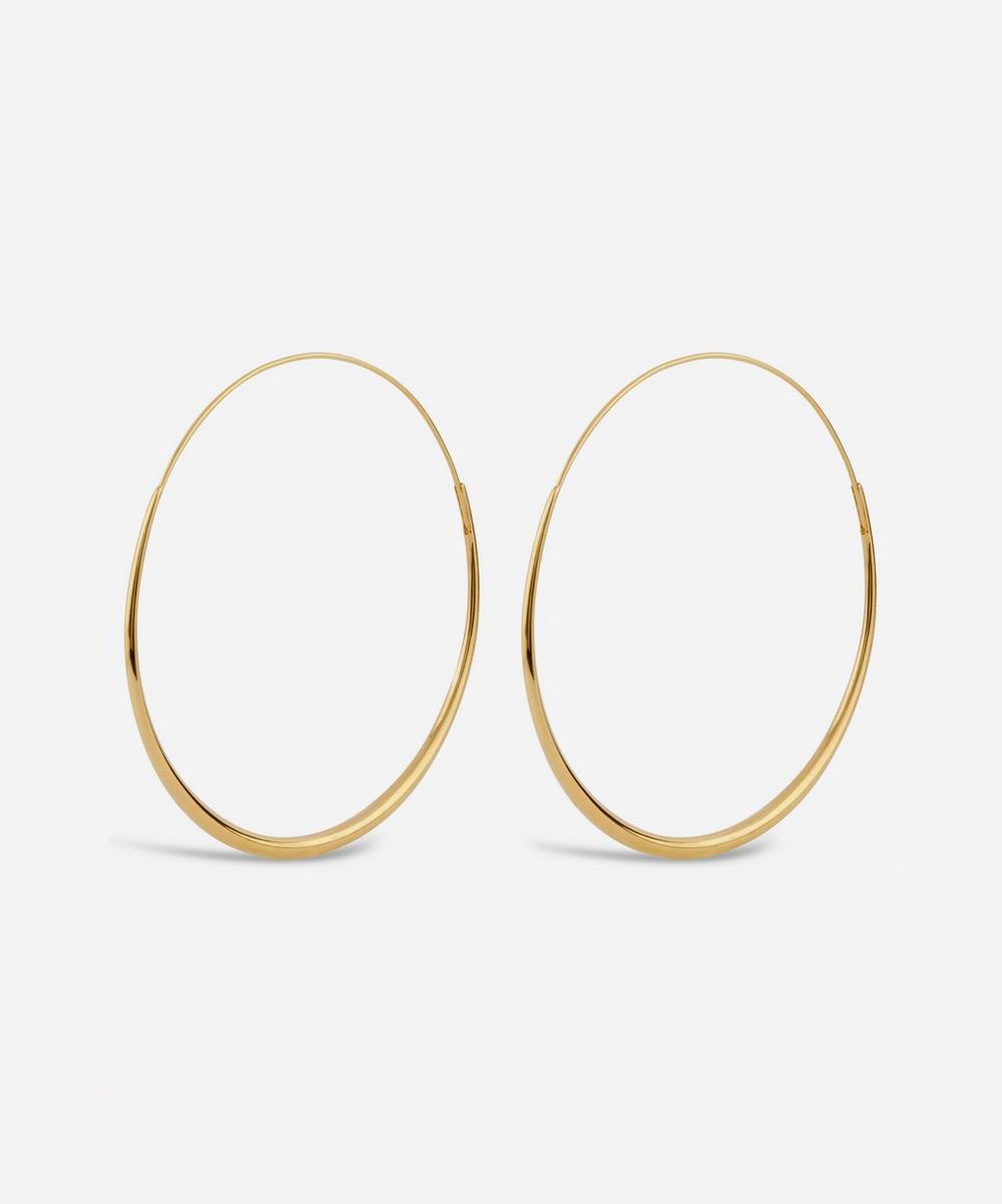 22ct Gold Vermeil Queenie Hoop Earrings