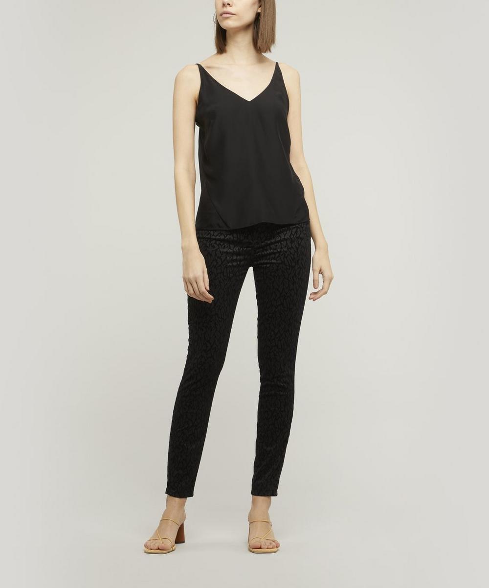 Leenah Super High-Rise Ankle Skinny Jeans