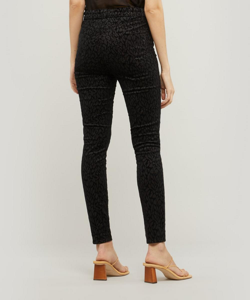 Leenah Super High-Rise Ankle Skinny Jeans