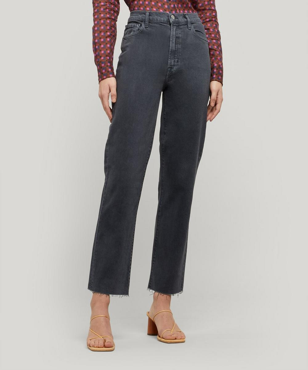 Jules High-Rise Straight Jeans
