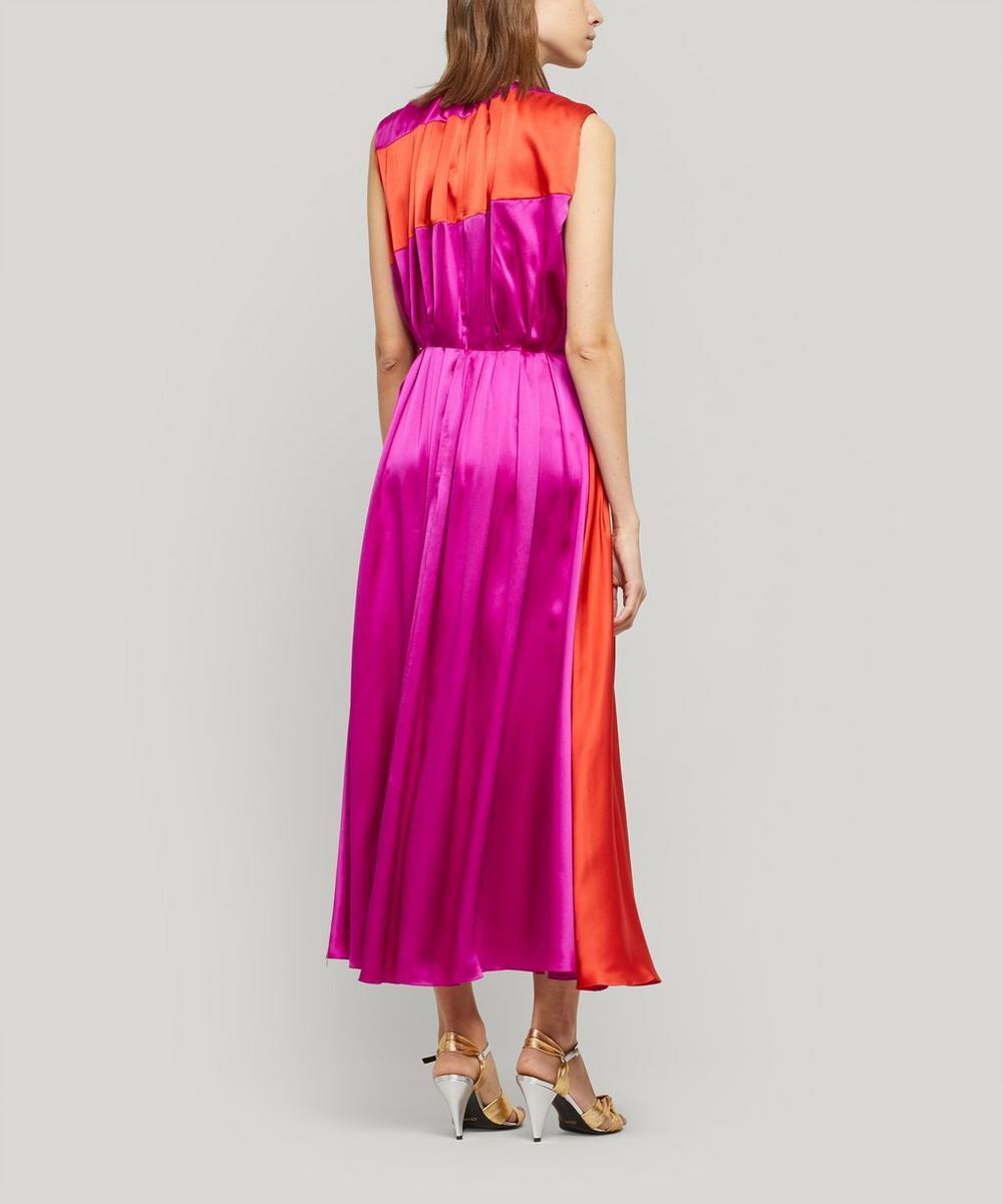 Cora Printed Silk Midi-Dress