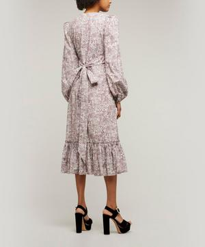 Belle Printed Poplin Dress