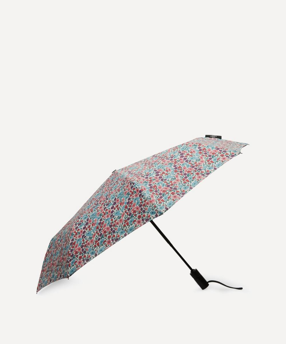 Poppy and Daisy Print Compact Umbrella
