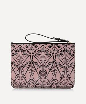 Ianthe Suede Clutch Pouch