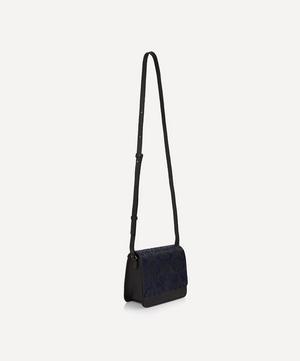 Ianthe Suede Mini Portland Cross-Body Bag