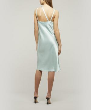 Satin Double Layer Dress