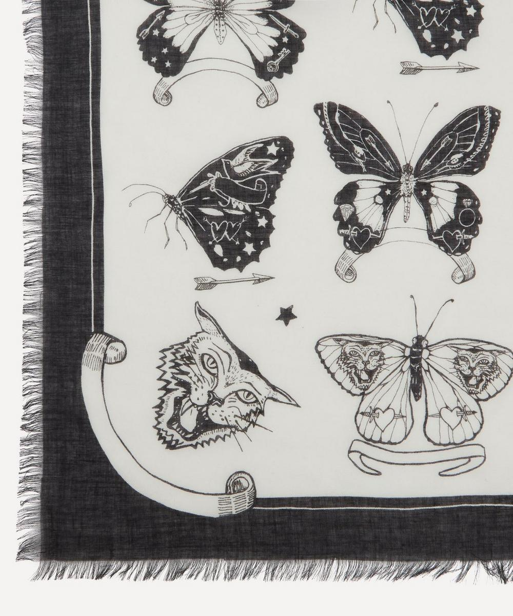 Inked Butterfly Scarf