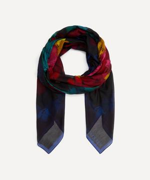 Pareo Feather Cotton-Blend Scarf