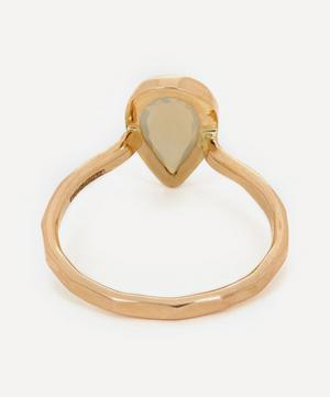 Gold Crystal Opal Ring