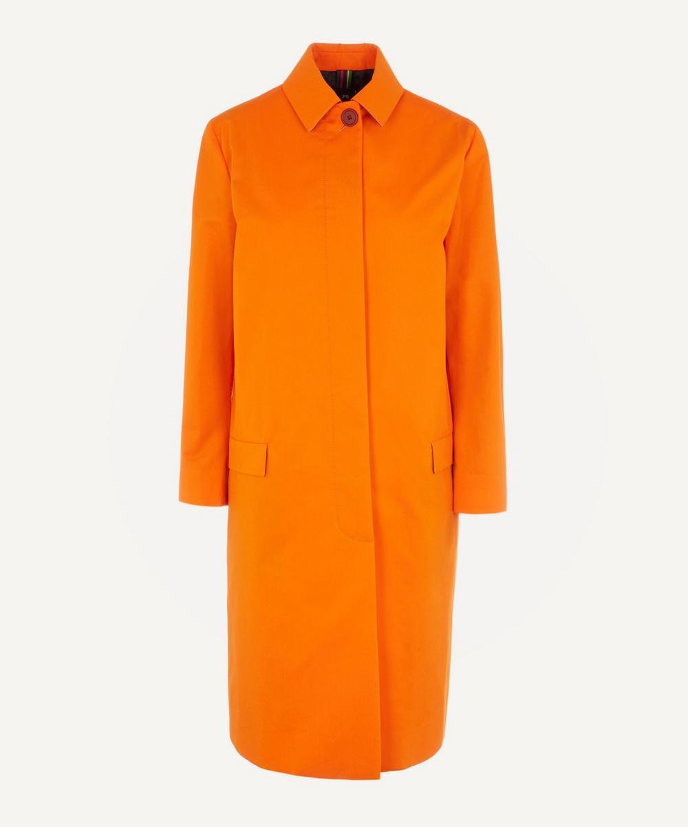 Straight-Cut Mac Coat