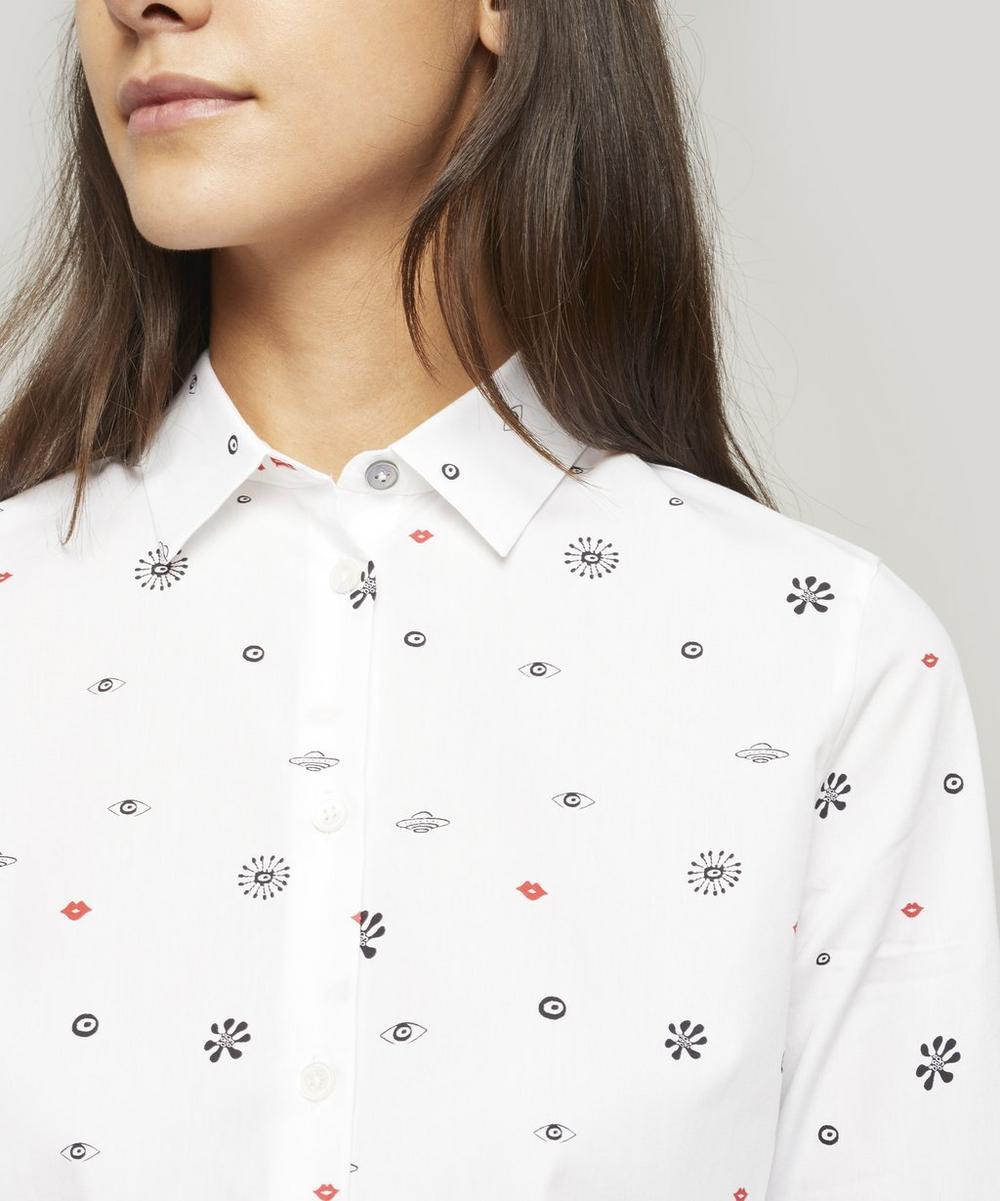 Galaxy Print Shirt
