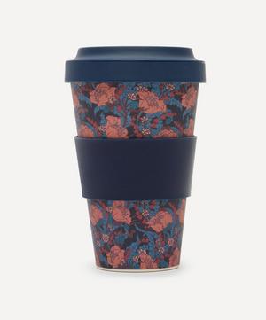 June Print Bamboo Takeaway Coffee Cup