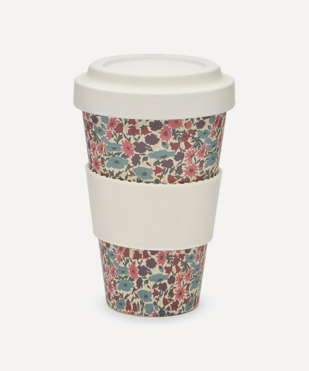 Poppy and Daisy Print Bamboo Takeaway Coffee Cup