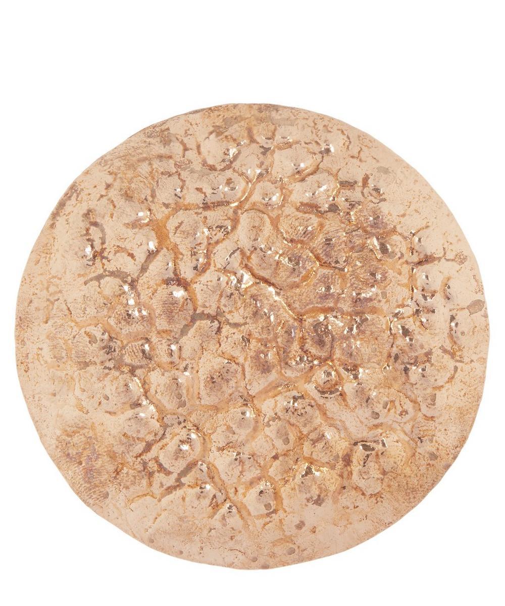 Oversized Copper Earring