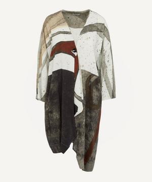 Asymmetric Watercolour Jacket