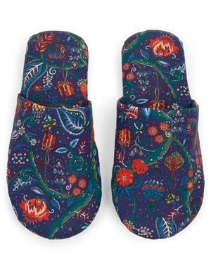 Jeweltopia Tana Lawn Cotton Travel Slippers