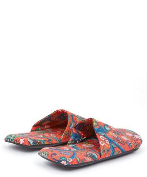 Jeweltopia Tawn Lawn™ Cotton Travel Slippers