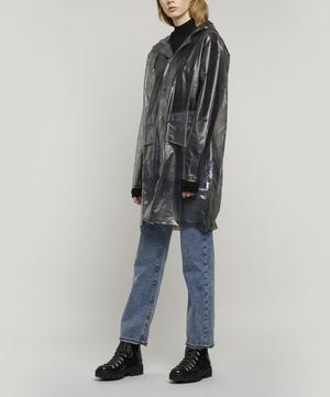Check Hooded Coat