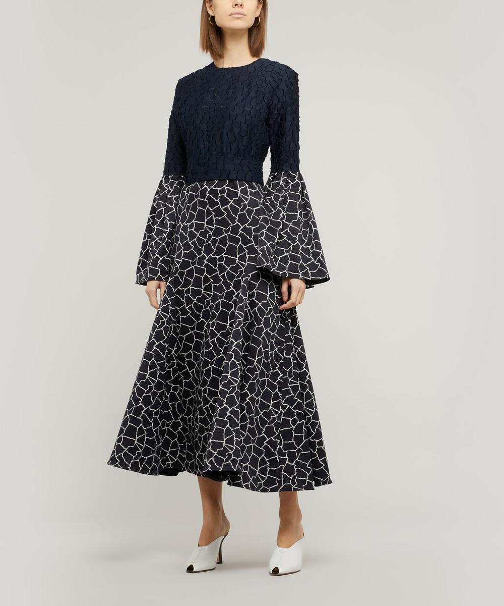 Bella Flare Sleeve Dress