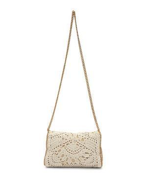 Falabella Crochet Shoulder Bag