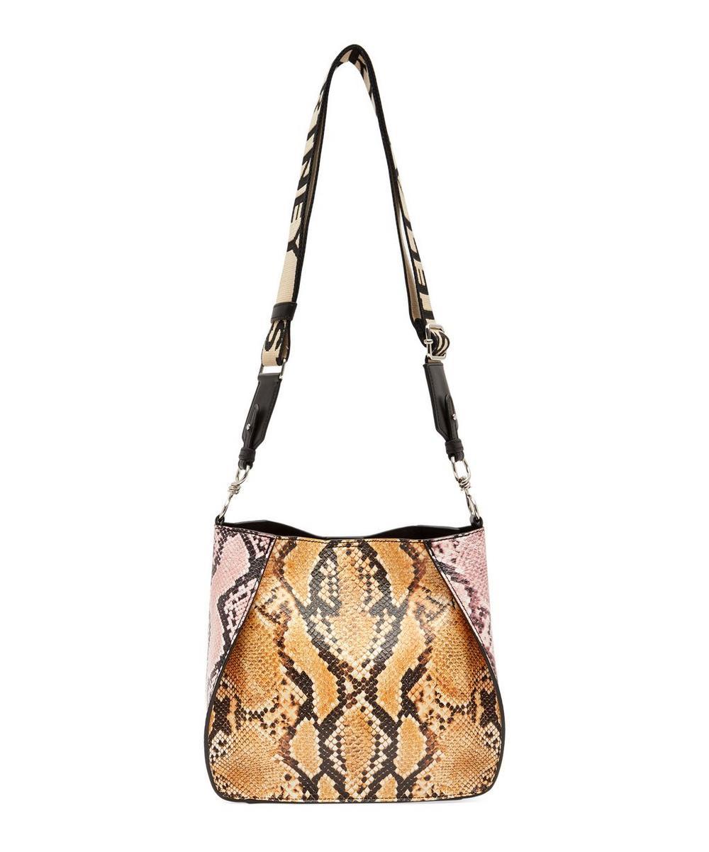 Mini Snake Effect Crossbody Bag