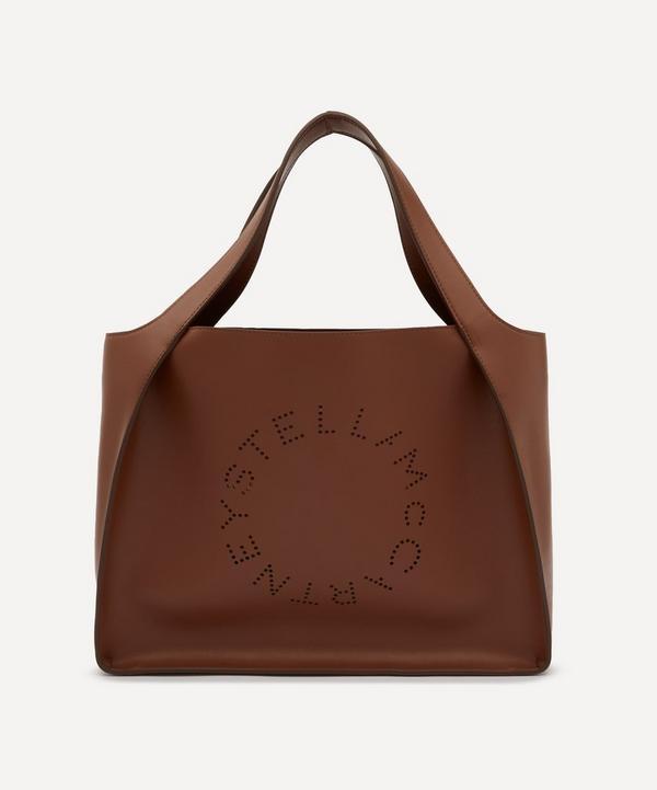 Stella McCartney - Stella Logo Faux Leather Tote Bag