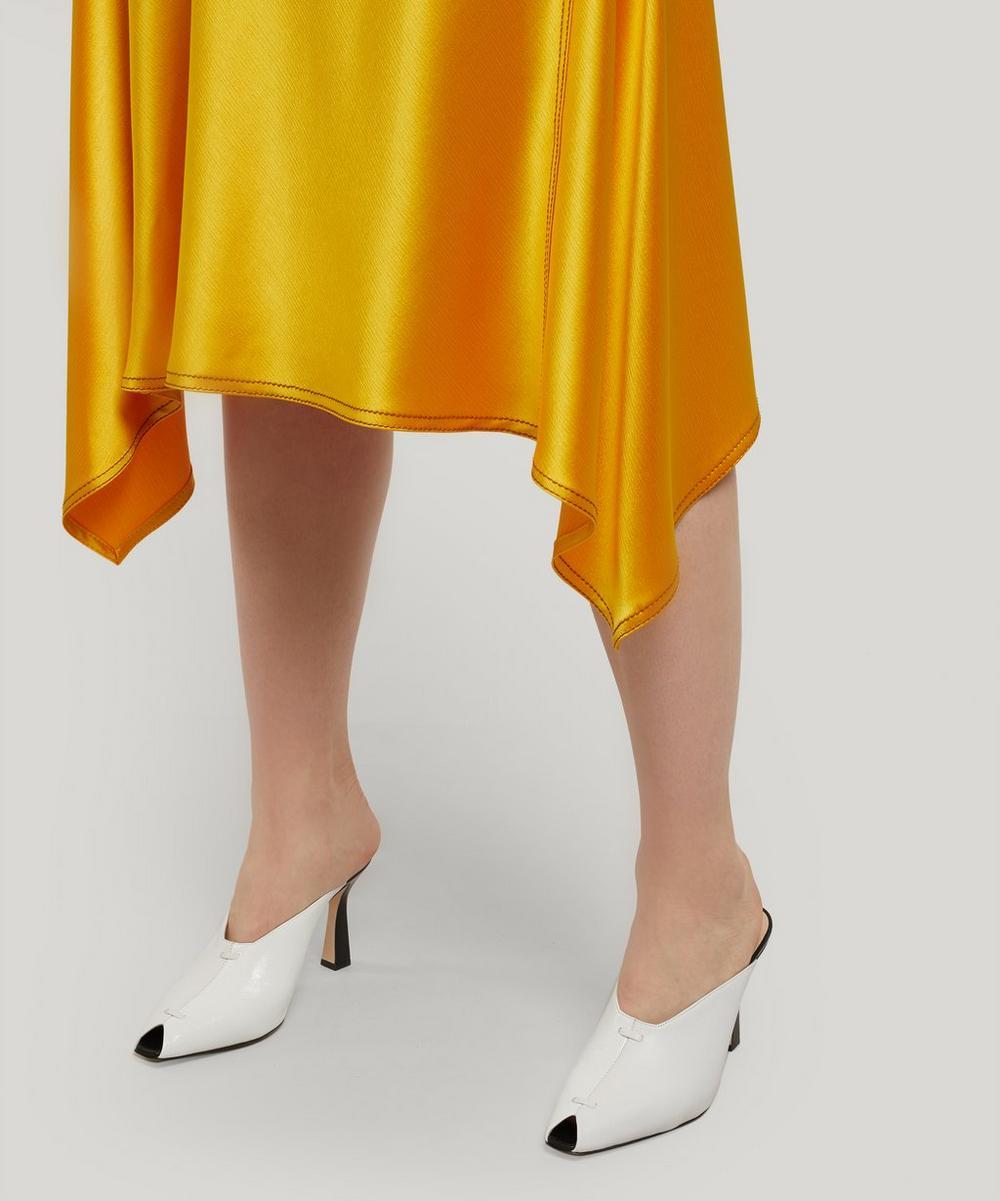 Darby Crinkled Satin Skirt