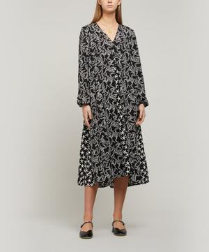 Leila Structure Stretch Midi-Dress