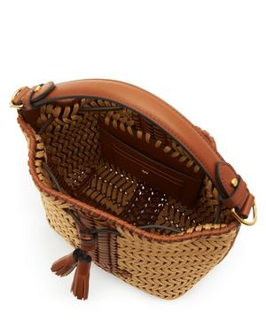 Neeson Small Woven Drawstring Rope bag