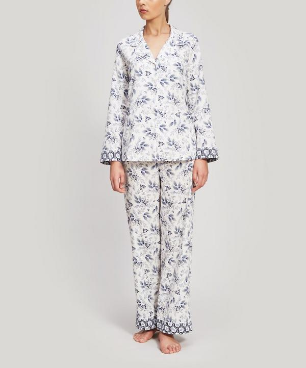 Dorothea and Eleonora Brushed Cotton Pyjama Set