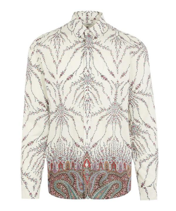 Leonora Tana Lawn™ Cotton Long-Sleeved Lasenby Shirt