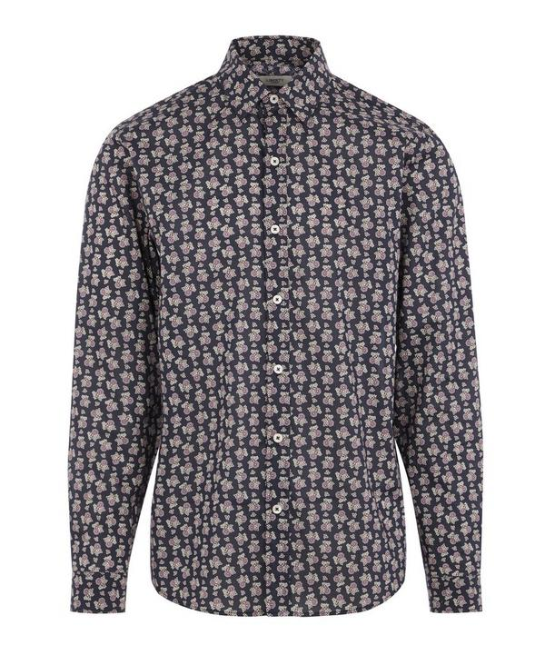 Poppy Florence Tana Lawn™ Cotton Long-Sleeved Lasenby Shirt