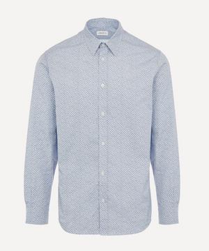 Floral Meadow Poplin Arthur Shirt