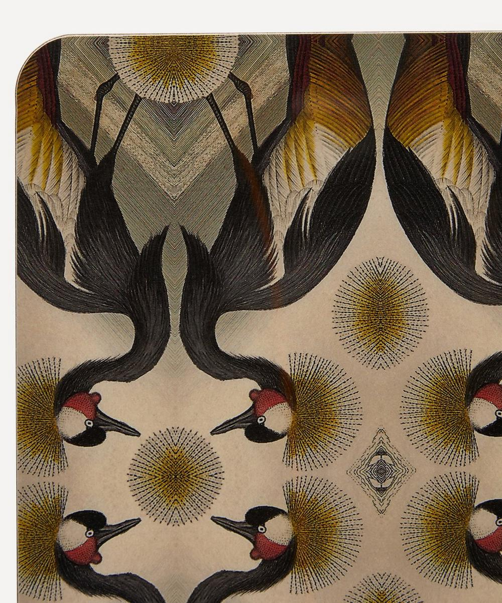 Crested Crane Table Mat