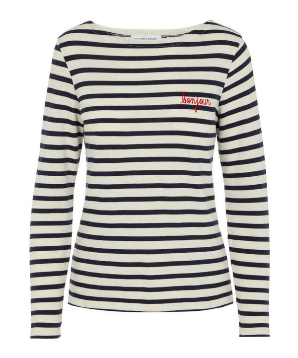 Bonjour Sailor Striped T-Shirt