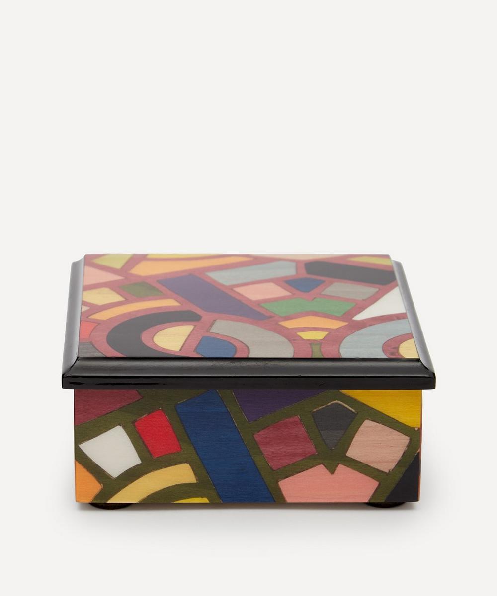Biagio Barile Petali Wooden Box In Multicolour