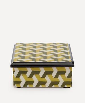 Geometric Wooden Box