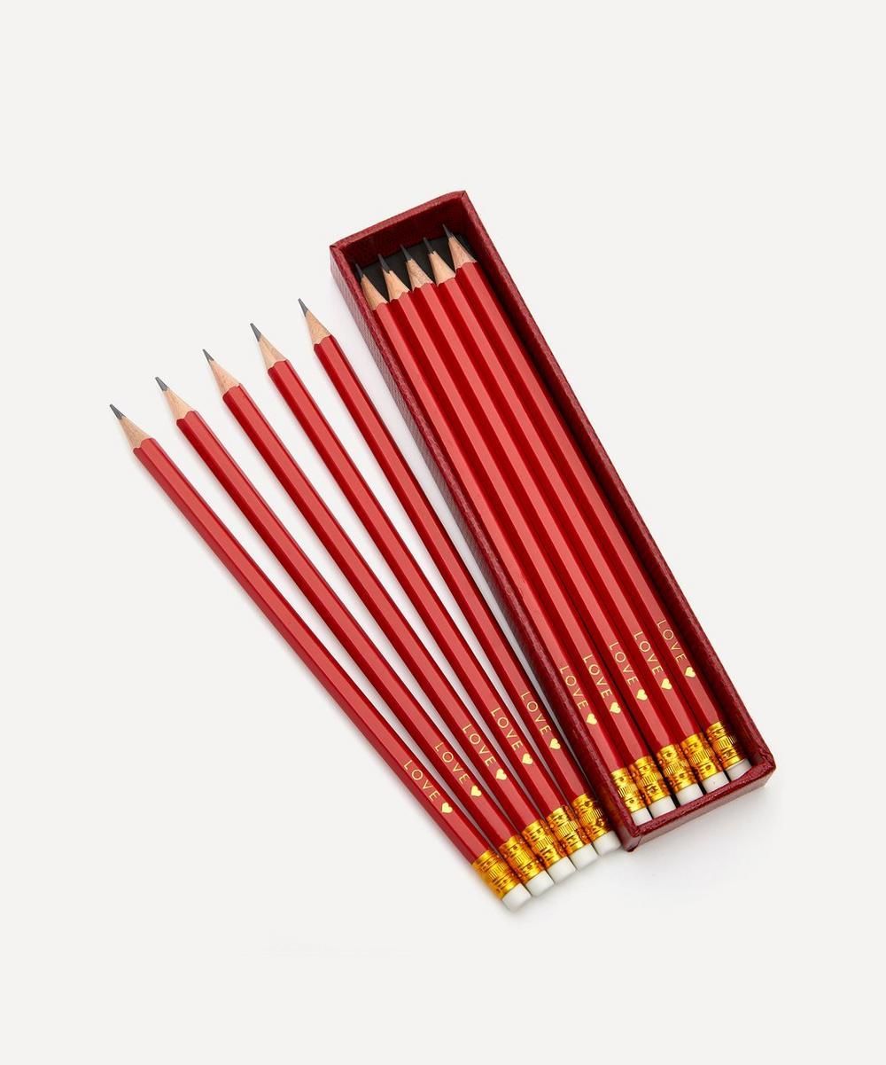 Love Pencils Set of Ten