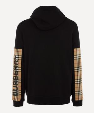 Asherby Check Sleeve Track Top