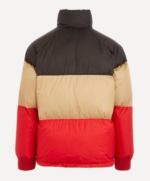 Branston Tri-Colour Logo Puffer Jacket