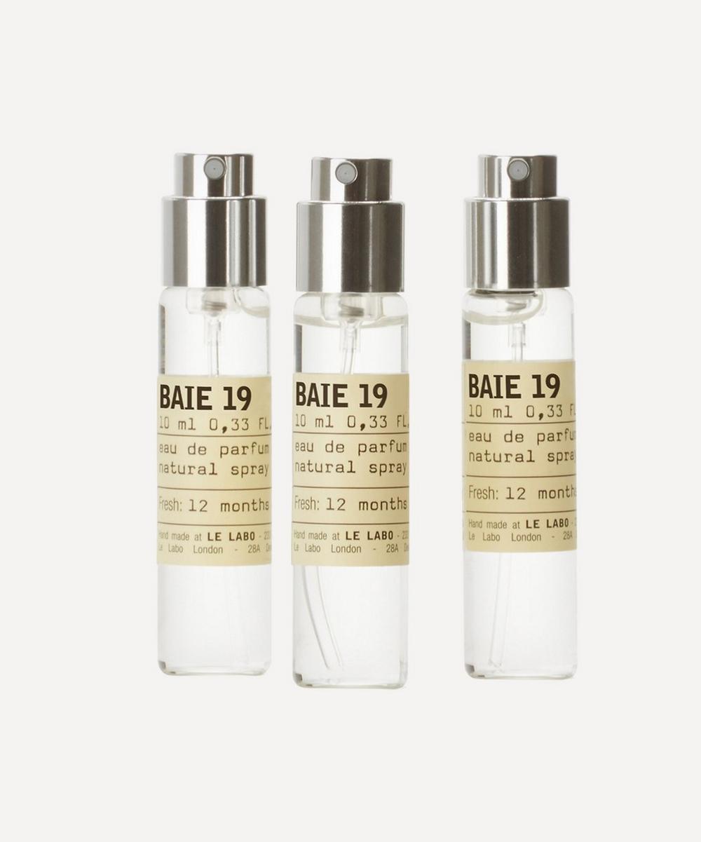 Le Labo - Baie 19 Eau de Parfum Travel Tube Refills 3 x 10ml