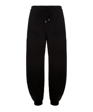 Satin Crepe Jogging Trousers