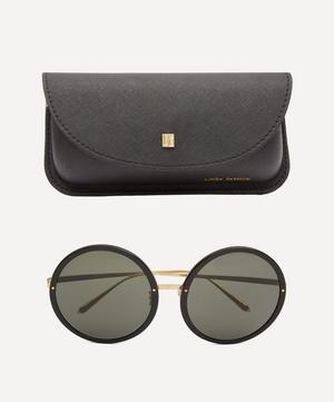Kew Round Oversized Sunglasses